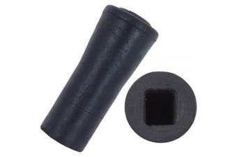 (2) - Classic Canes Replacement Square End Seat Stick Ferrule (2)