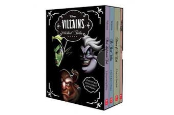 Disney: Villains Wicked Tales Boxed Set (Books 1-3 and Journal) (Disney Villains)