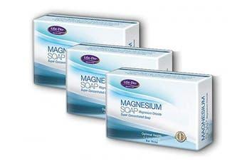 Life-Flo Magnesium Bar Soap, 3 x 130ml