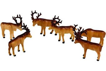 (Figures, Caribou) - Lionel Polar Express Caribou Animal Pack