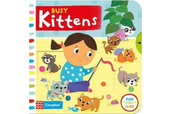 Busy Kittens (Busy Books) [Board book]