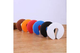 7PCS Window Door Foam Guard Safety Finger Protector Door Stopper for Baby Child with 7 Colours