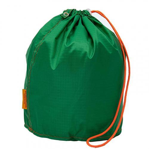 Small GoKnit Shamrock Green Knitting Project Bag with Loop /& Drawstring