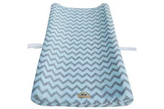 (blue) - Ultra Soft and Comfortable Changing Pad Cover 2pk by BlueSnail (Blue)