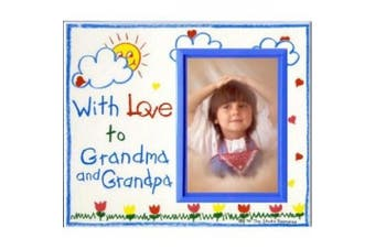 With Love to Grandma & Grandpa. Picture Frame Gift