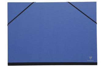 Clairefontaine Art Folder, A4+, Elastic Straps - Night Blue