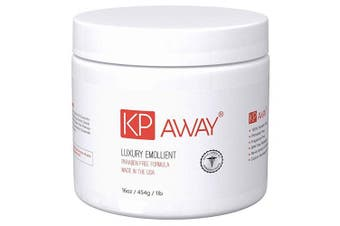 (454g) - KPAway Keratosis Pilaris Treatment - Acid Free KP Cream, Lotion Made With Organic Coconut Oil, Baby Friendly, Paraben Free, For Rough & Bumpy Skin (470ml)