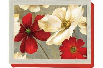 "Creative Tops Flower Study Lap Tray, 43.5 x 32.5 cm (17"" x 12¾"")"