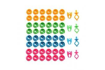 Thread Spool Huggers 48 peels 4 Bobbin Clamps & 4 Bobbin Holders