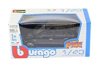 New Burago 1/43 Diecast Model Car - Fiat Croma in Black - Burago 'Street Fire' Range