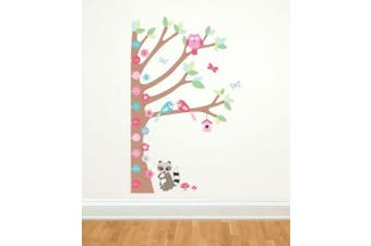 Forwalls Forest Growth Chart Removable Wall Decal Stickers