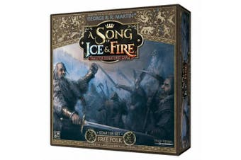 CMON A Song of Ice & Fire: Tabletop Miniatures Game - Free Folk Starter Set