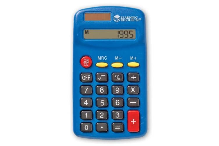 (1, classic) - LEARNING RESOURCES LER0037 PRIMARY CALCULATOR SINGLE