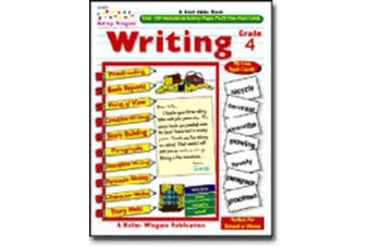 WRITING GR. 4 W/ 96 FLASH CARDS KELLY WINGATE