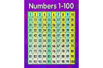 Creative Teaching Press Numbers 1-100 Chart (5370)