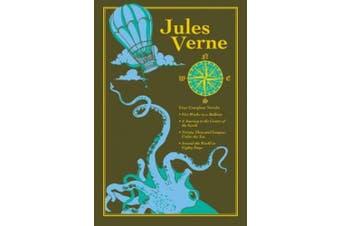 Jules Verne (Leather-bound Classics)
