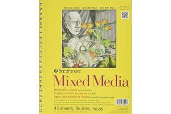 Strathmore STR-362-9 40 Sheet No.90 Mixed Media Pad, 23cm by 30cm