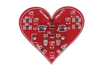 SMT LED Flashing Heart Kit