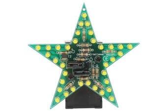 Velleman Flashing Yellow LED Star Kit : MK169Y