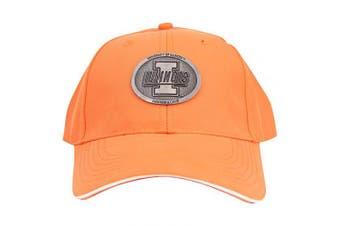 (Illinois Fighting Illini (Badge)) - Captivating Headgear NCAA Adult Baseball Cap Adjustable Hat