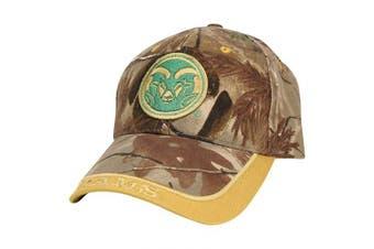 (Colorado State Rams (Camo)) - Captivating Headgear NCAA Adult Baseball Cap Adjustable Hat