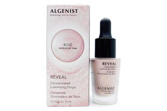 Algenist REVEAL Concentrated Luminizing Drops ROSE .150ml