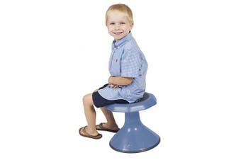 """(12"""" H, Powder Blue) - ECR4Kids ACE Active Core Engagement Wobble Stool for Kids, Flexible Classroom and Home Seating, 12"""", Powder Blue"""