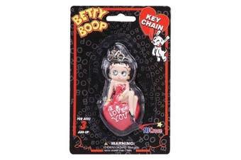 Betty Boop I Love You Figural Key Chain