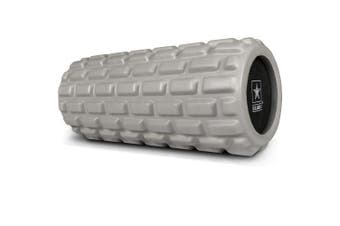 (Medium Green) - U.S. Army Foam Roller - Deep Tissue Massage Roller for Trigger Point Release on Muscles - Choose from 3 Greens or Black