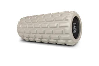 (Light Green) - U.S. Army Foam Roller - Deep Tissue Massage Roller for Trigger Point Release on Muscles - Choose from 3 Greens or Black