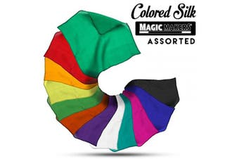 Magic Makers Coloured Silks, Professional Grade