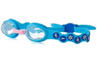 (One Size, Turquoise/Beautiful Blue/Clear) - Speedo Children's Disney Spot Goggles Ages 2-6