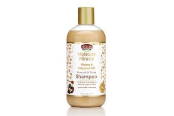 African Pride Moisture Miracle Shampoo, Nourish & Shine, 350ml