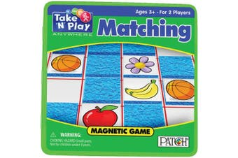 (1 PACK) - Take 'N' Play Anywhere Magnetic Matching Game