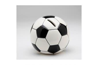 Mini Soccer Ball Ceramic Kids Piggy Bank Room Decor
