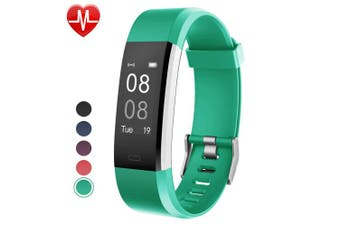 (Green) - Willful Fitness Tracker with Heart Rate Monitor, Fitness Watch Activity Tracker IP67 Waterproof Slim Smart Band with Step Calorie Counter 14 Sports Mode Sleep Monitor,Pedometer for Kids Women Men