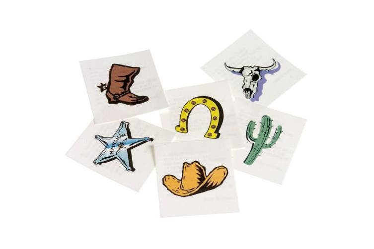 Western Tattoos (144) Party Supplies