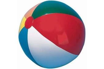 Multi Coloured Beach Ball (30cm )