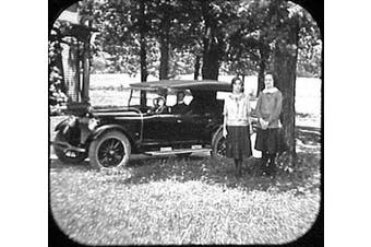 Old Time Cars in 3D - 3 ViewMaster Reels