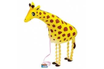 (yellowgirafee) - My Own Pet Balloon Giraffe Walking Foil [Toy]