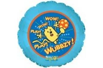 Wow Wow Wubbzy Play 46cm Mylar Balloon