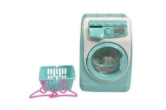 Bonlting Children Simulation Educational Toys - Cute Mini Multifunctional Washing Machine Toy, Electronic Blender Makeup Clean,Beauty Sponge Washer Machine