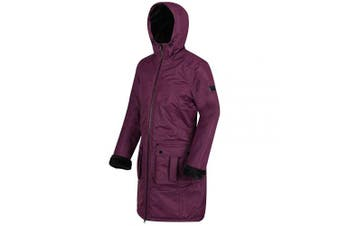 (10, Prune) - Regatta Women's Romina Waterproof and Breathable Insulated Hooded Jacket