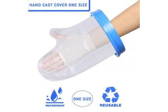 Adult Hand Waterproof Plaster Cast & Dressing Cover | Protector | Also for Bandages & Plasters | Protection During Shower & Bath | Latex Free | Reusable