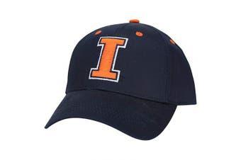 (Illinois Fighting Illini (Classic)) - Captivating Headgear NCAA Adult Baseball Cap Adjustable Hat