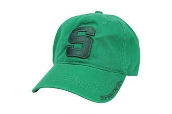 (Michigan State Spartans (Tonal Green)) - Captivating Headgear NCAA Adult Baseball Cap Adjustable Hat
