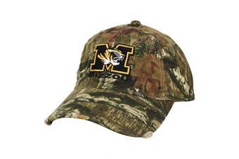 (Missouri Tigers (Camo)) - Captivating Headgear NCAA Adult Baseball Cap Adjustable Hat