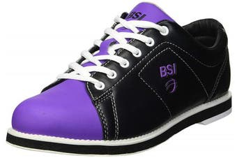 (9, Black/Purple) - BSI Women's Classic Bowling Shoe