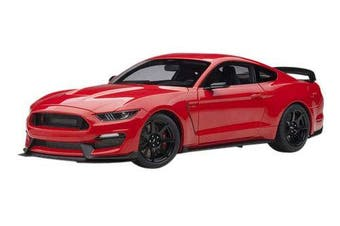 Ford Mustang Shelby GT-350R Race Red 1/18 Model Car by Autoart 72935