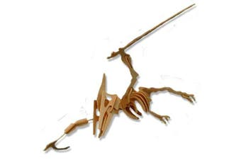 3-D Wooden Puzzle - Small Pteranodon -Affordable Gift for your Little One! Item #DCHI-WPZ-J007